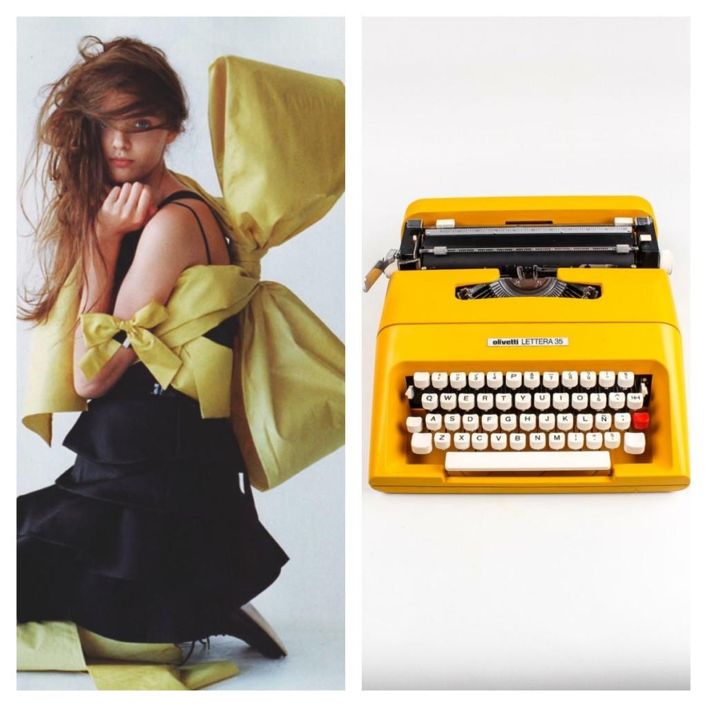 Fashion trends p/e 15. Giallo